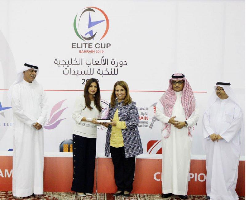 حياة بنت عبدالعزيز تتوج أبطال كرة الطاولة