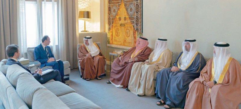 سمو ولي العهد: الزيارات المتبادلة تخدم مصلحة البلدين