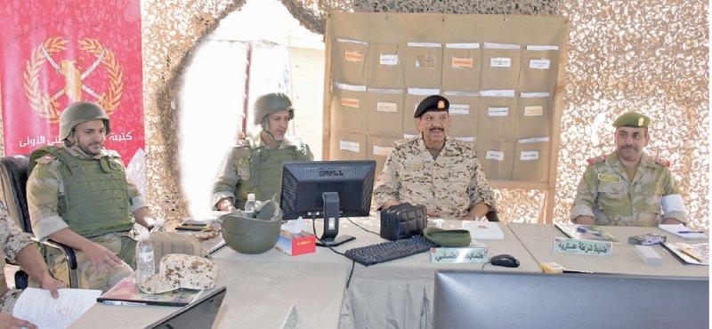 """القائد العام: """"القيادات"""" اختبار حقيقي لتنفيذ العمليات العسكرية"""