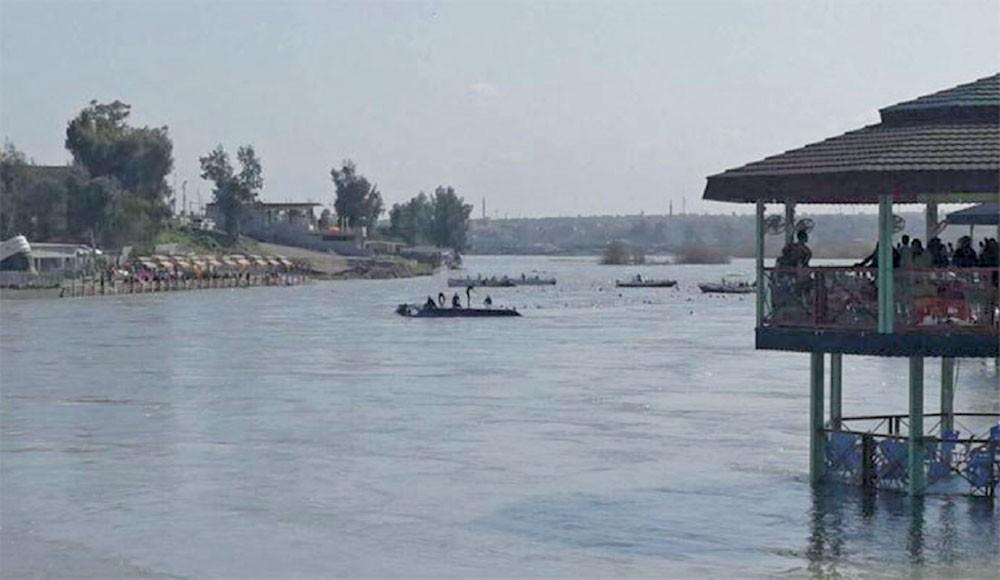 كارثة بنهر دجلة في الموصل