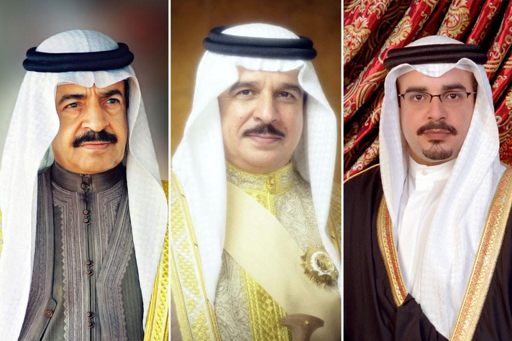 العاهل وسمو رئيس الوزراء وسمو ولي العهد يتلقون شكر خادم الحرمين