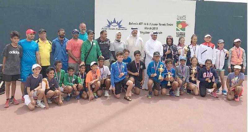 ختام رائع للبطولة الآسيوية للتنس تحت 14 سنة