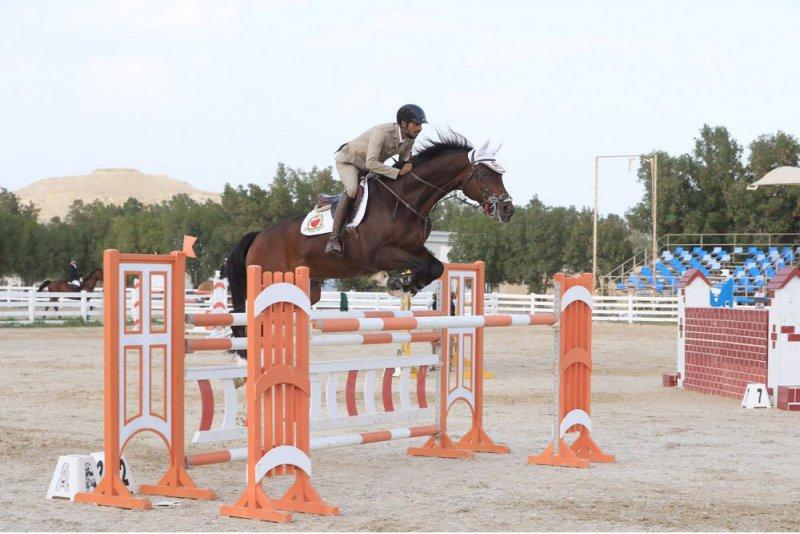 عبدالله بن محمد يتوج الفائزين ببطولة الاتحاد الملكي لقفز الحواجز