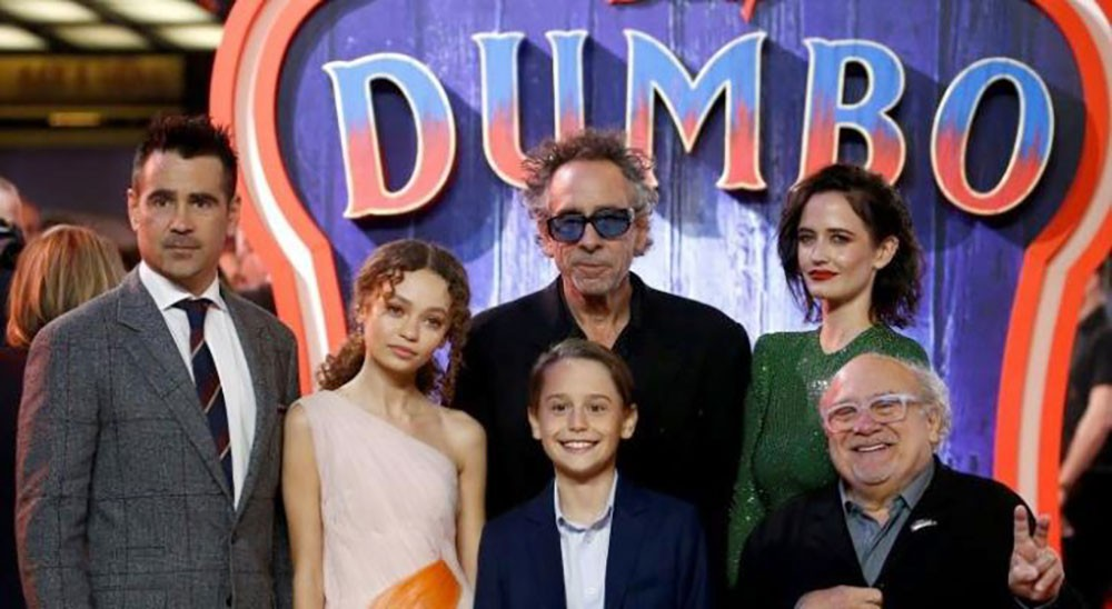 """""""دمبو"""" يحتل صدارة إيرادات السينما الأميركية"""