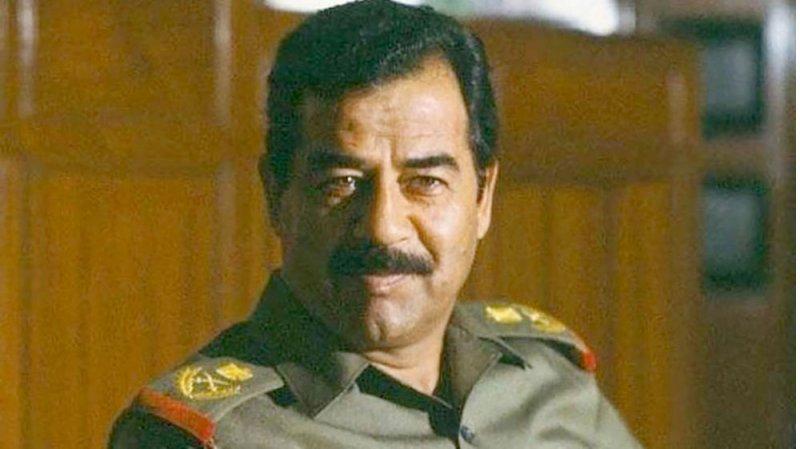 نشيد صدام حسين يصدح في جامعة عراقية