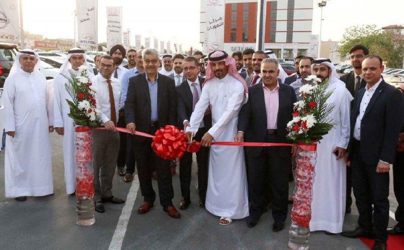 افتتاح مركز الخصومات لبيع السيارات المستعملة في سند