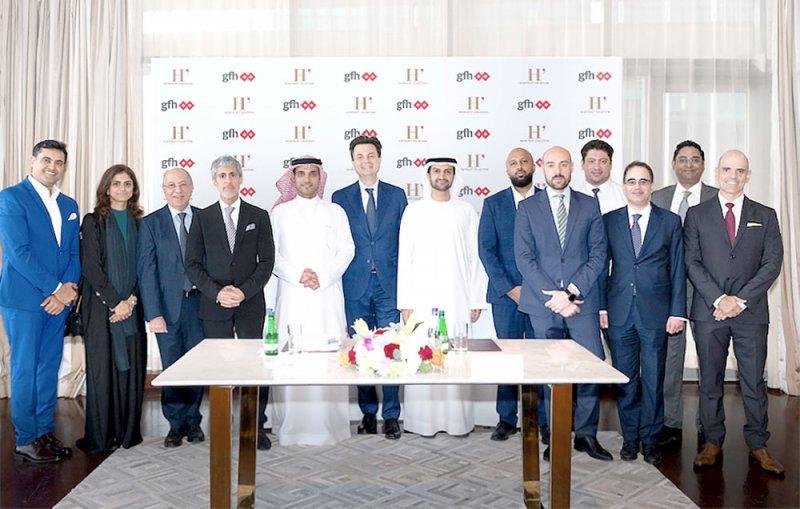 """إنجاز 60 % من أعمال بناء """"ذا هاربور رو"""" بالبحرين"""