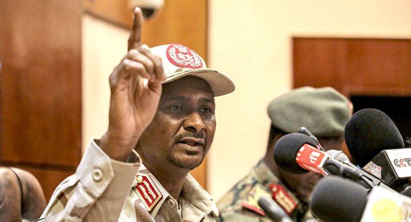حميدتي: السعودية والإمارات ومصر ساعدت السودان