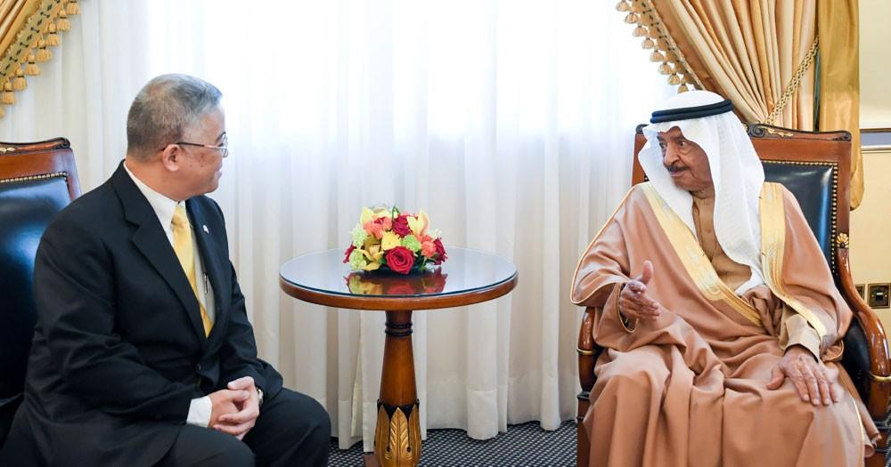 سمو رئيس الوزراء: النهوض بالتبادل التجاري مع تايلند
