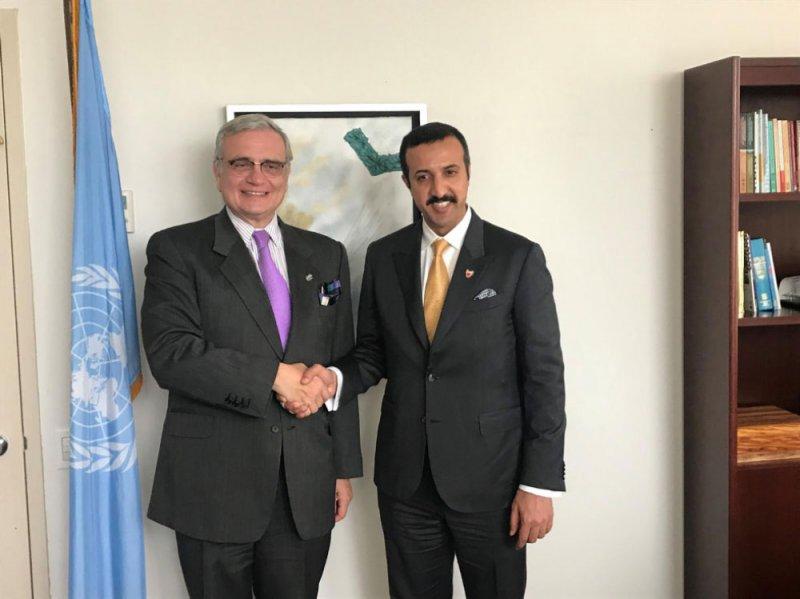 عبدالله بن أحمد يؤكد أهمية التعاون مع بلدان الجنوب