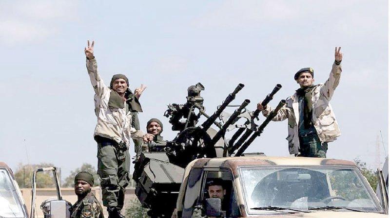 الجيش الليبي يسقط درون تركية بعين زارة