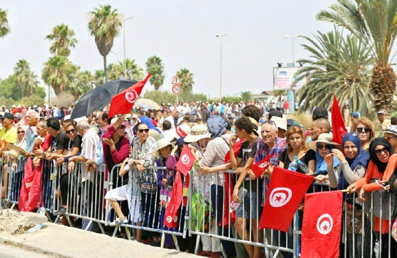 تونس تودع رئيسها السبسي