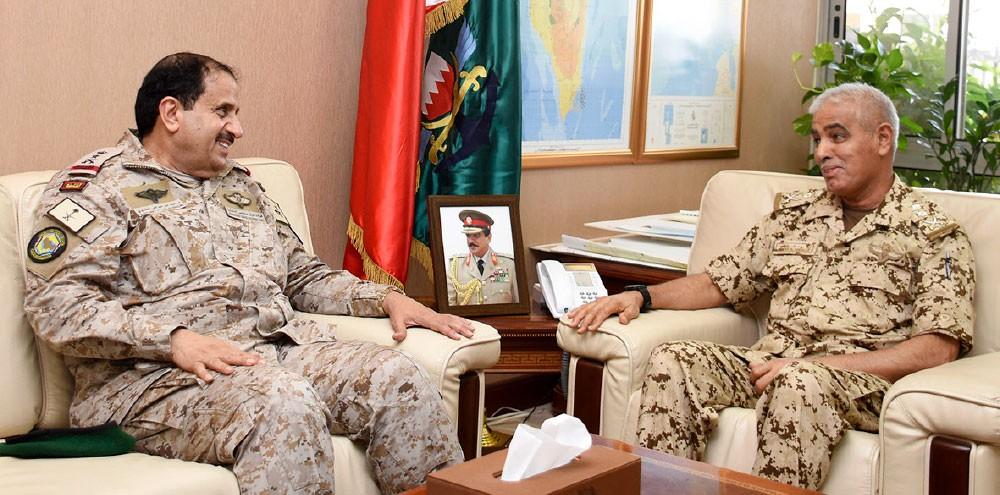 """إشادة بجهود قائد """"العسكرية الخليجية"""""""