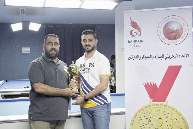 القاسمي: طموحي تحقيق بطولة خارجية للبحرين