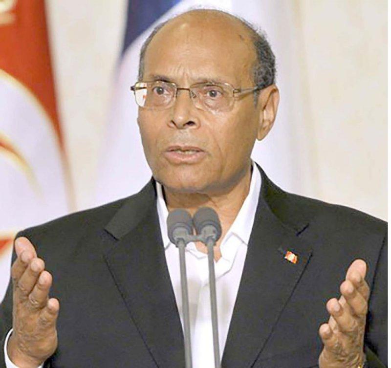 المنصف المرزوقي يترشح لرئاسة تونس
