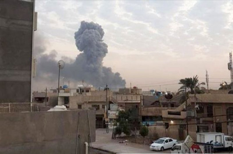 دوي انفجارات تهز العاصمة بغداد