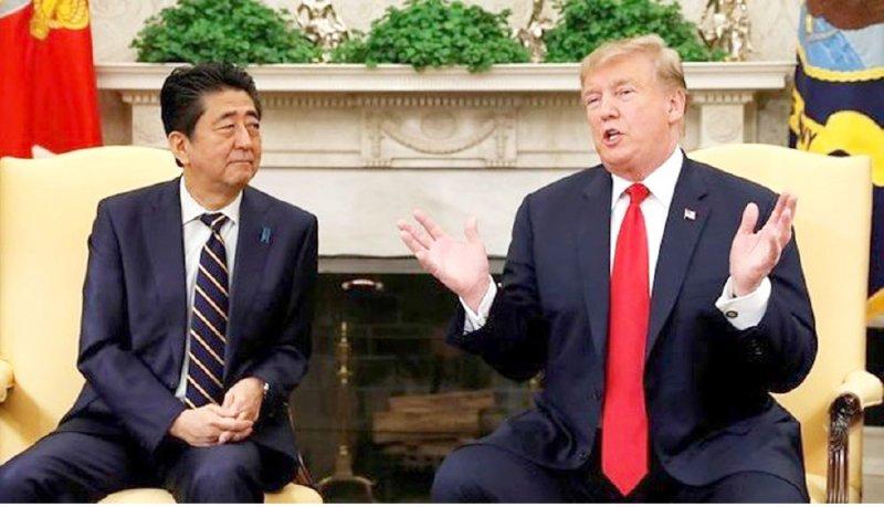 ترامب يطلب من اليابان شراء منتجات زراعية