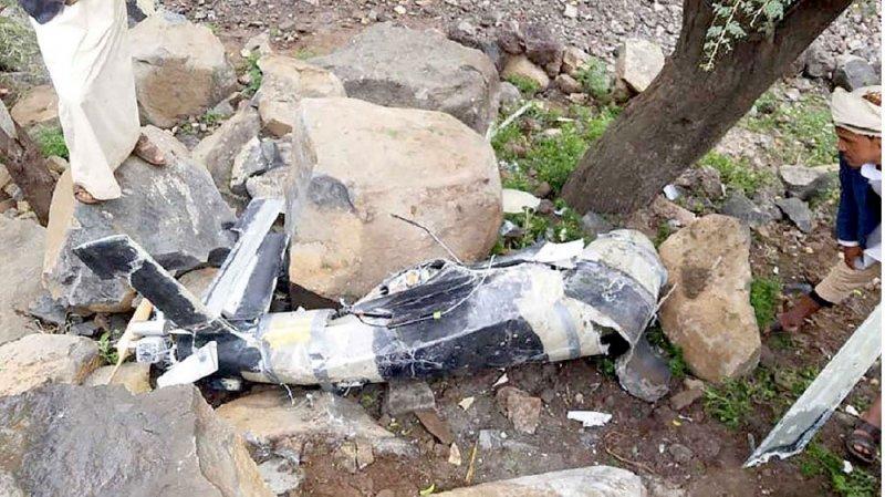 إسقاط طائرة حوثية مسيرة مفخخة في عمران
