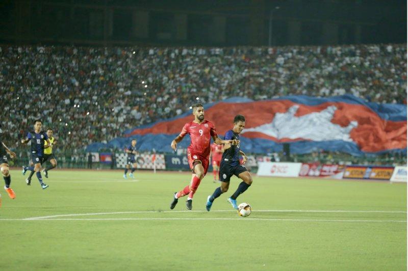 لاعبو المنتخب يؤكدون أهمية نقاط كمبوديا