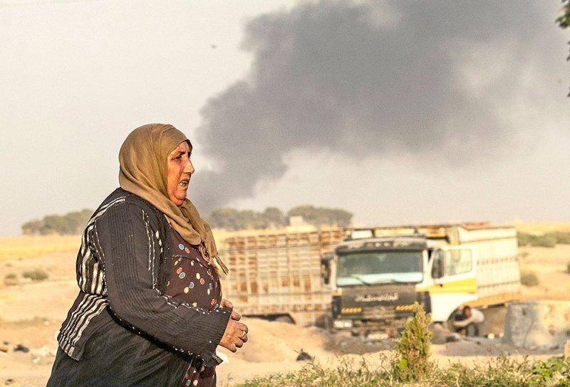 """تركيا تقصف شمال سوريا والأكراد يعلنون """"النفير"""""""