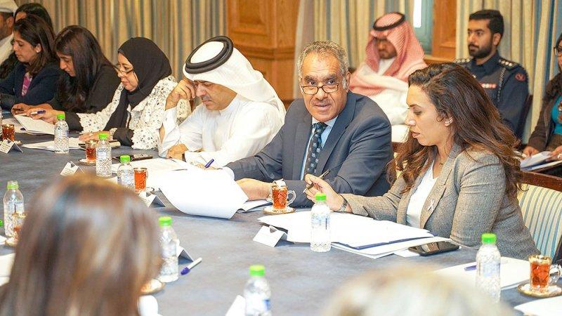 التحضير لفريق العمل المشترك بين البحرين وبريطانيا
