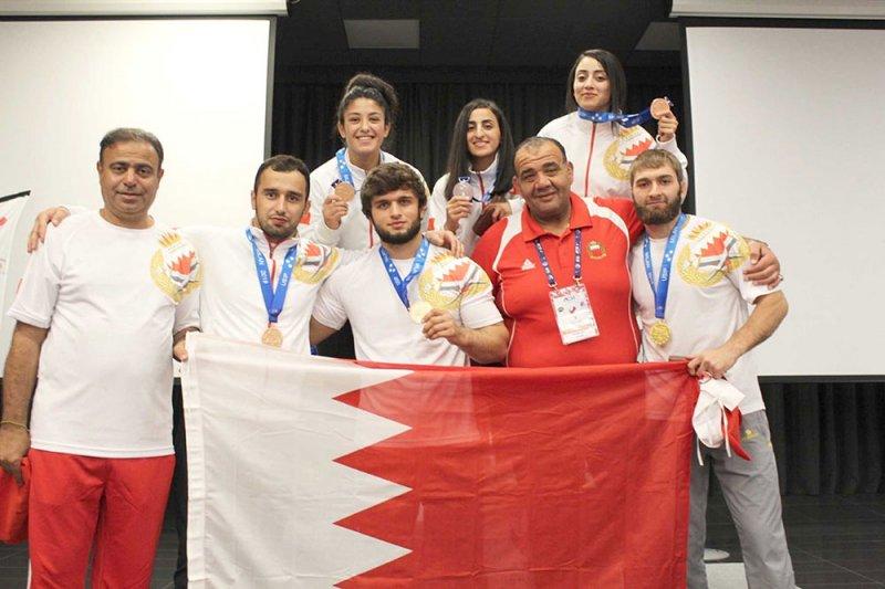 البحرين الأولى عربيا وآسيويا بدورة الألعاب الدولية للشرطة