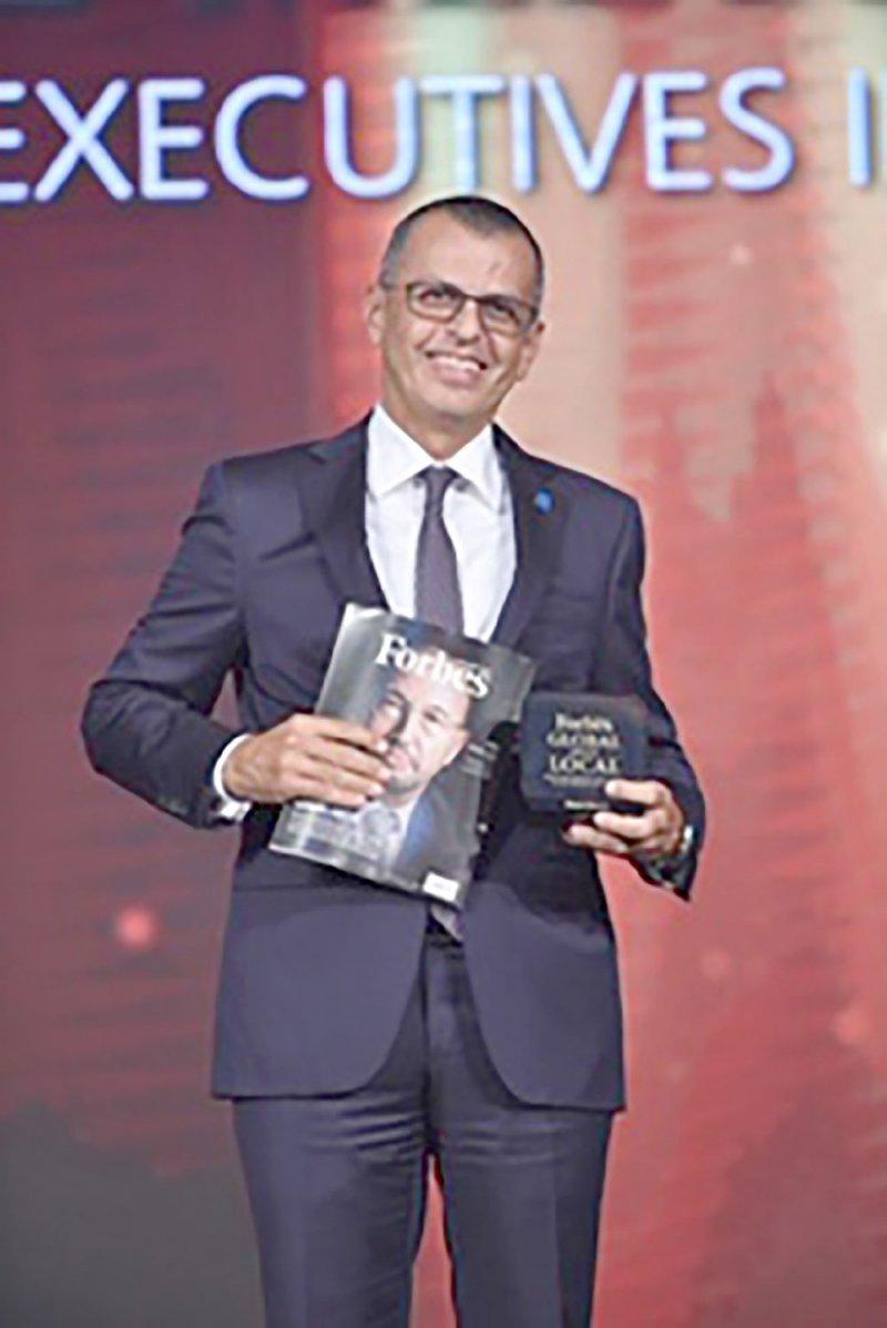 خوري ضمن قائمة أقوى 50 رئيسًا تنفيذيًّا إقليميًّا