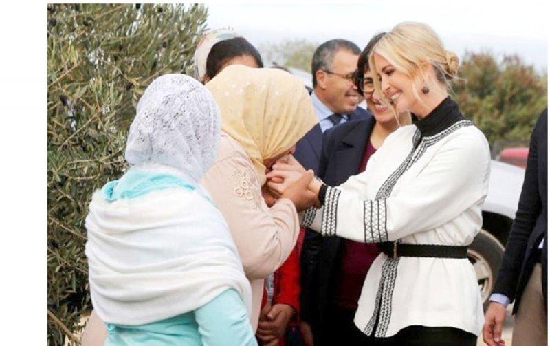 هفوة إيفانكا ترامب في المغرب
