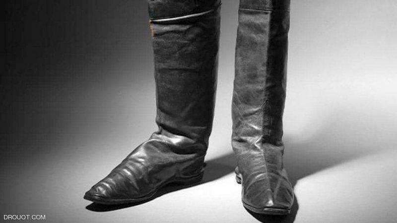 حذاء نابليون في مزاد بـ 80 ألف يورو