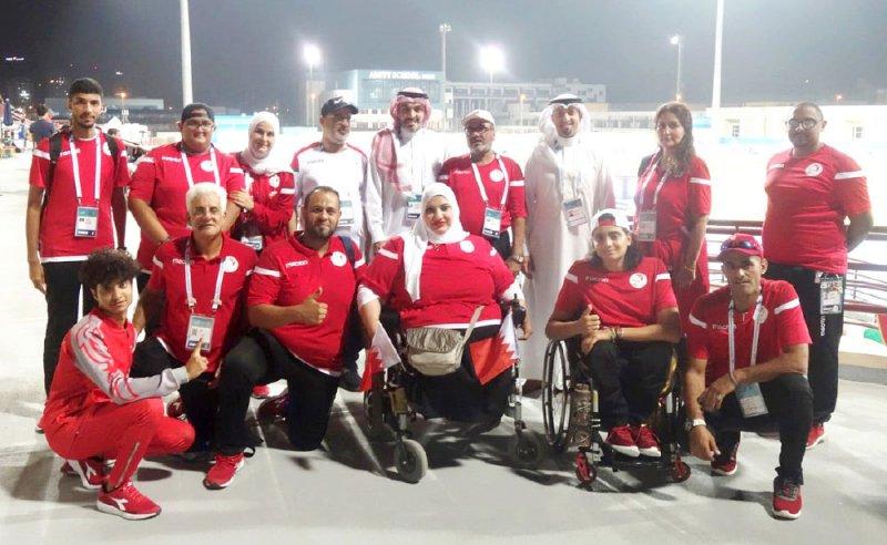افتتاح بطولة العالم البارالمبية التاسعة للقوى