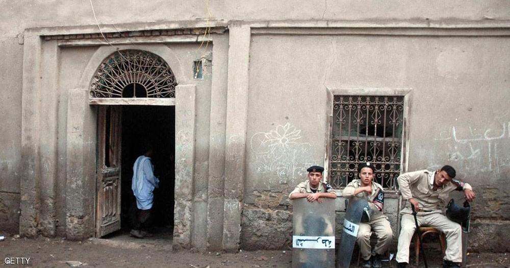 مصرع طفل وسيدة داخل كنيسة مصرية