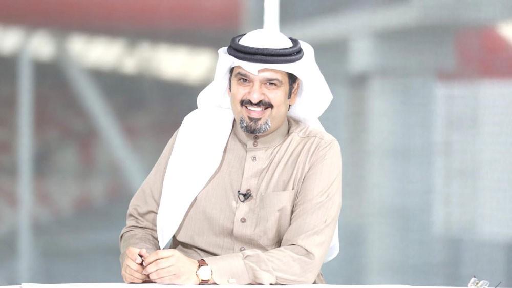 الإعلامي العبدالله: أتسلى مع أبنائي بتنس الطاولة... وبدأت مغامرة رفع الأثقال