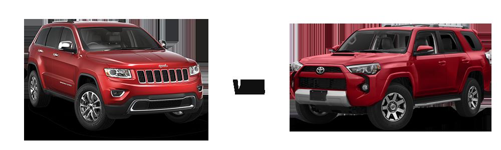 Grand Cherokee Overland >> 2018 Jeep Grand Cherokee vs. 2018 Toyota 4Runner
