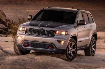 list of jeep grand cherokee models