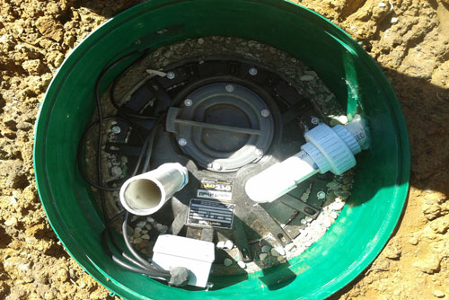 Septic lift system