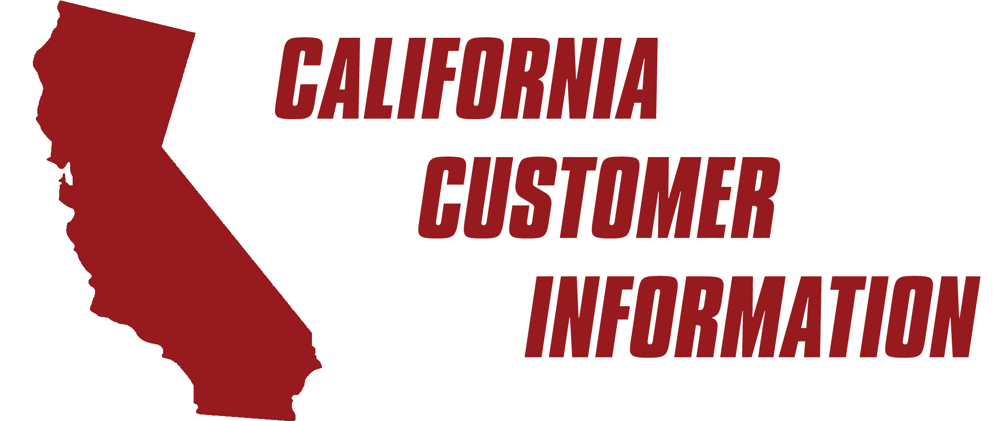 CaliforniaCustomerInformation