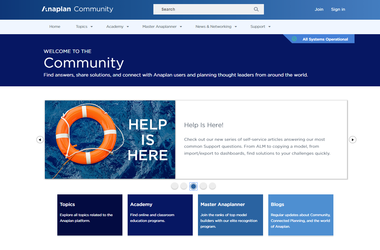 App Hub - Anaplan Community