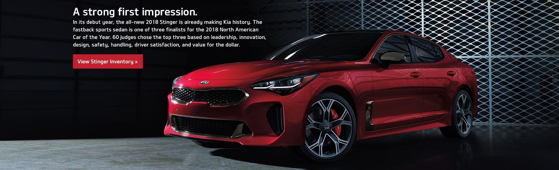 Kia Stinger - A strong first impression.