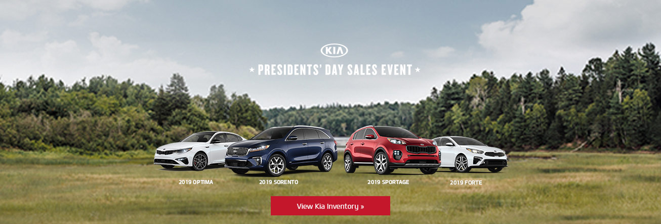 Kia's President's Day Sales Event