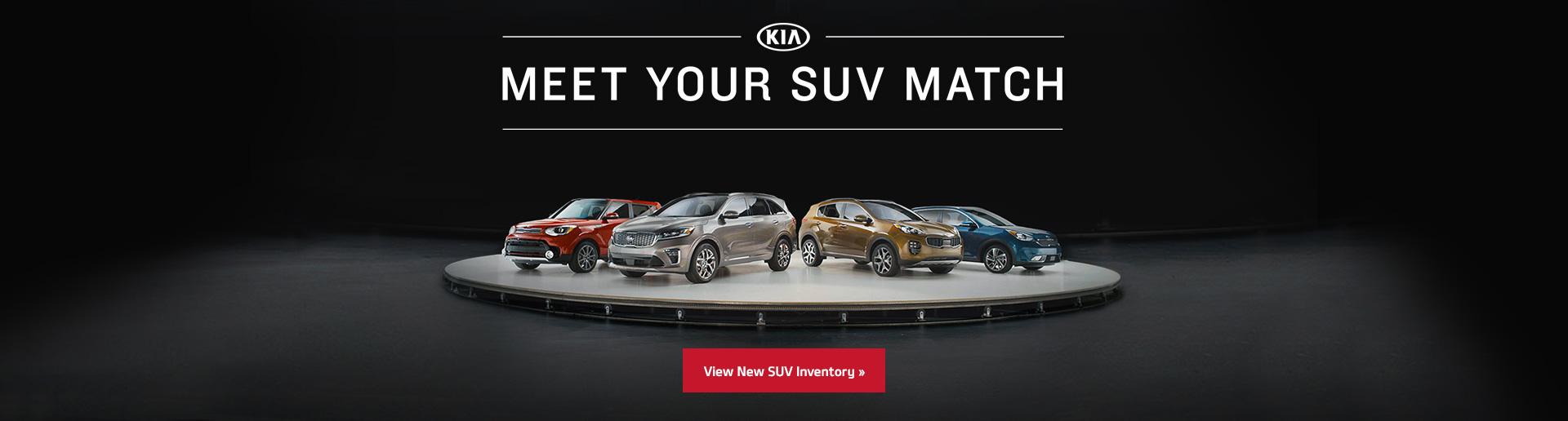 Meet Your SUV Match
