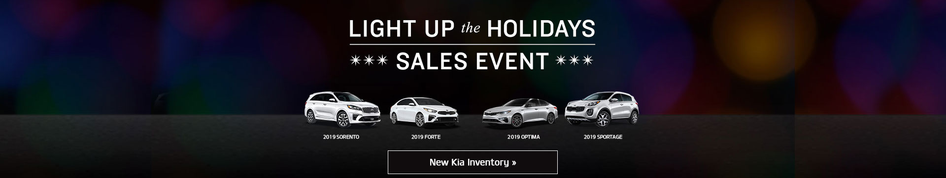 Light Up The Holidays Sales Event