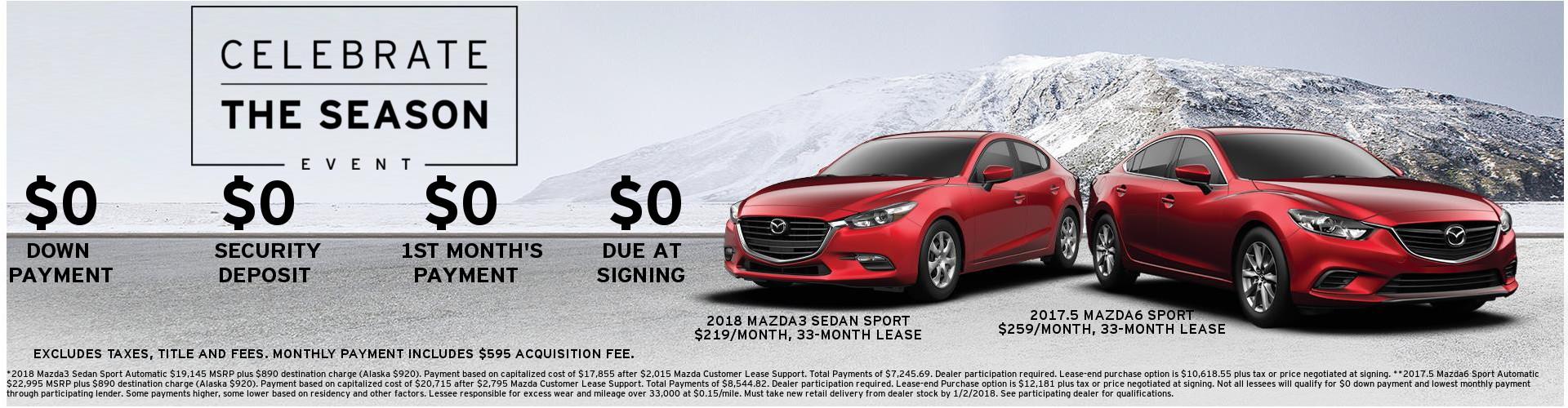 Mazda Celebrate The Season