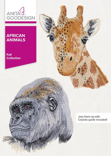 African animals animal embroidery designs anita goodesign
