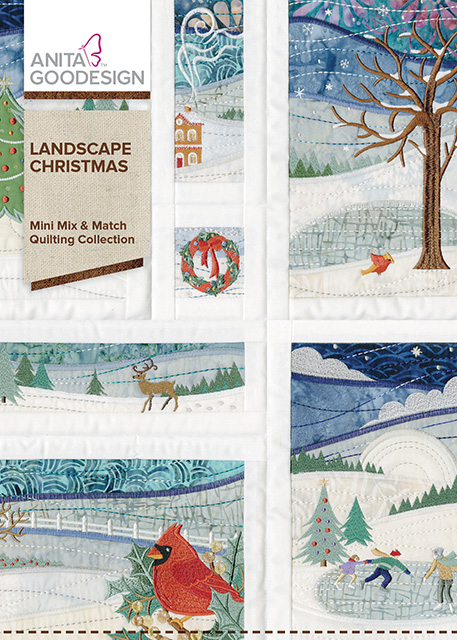 Landscape Christmas Holiday Quilting Collection Anita