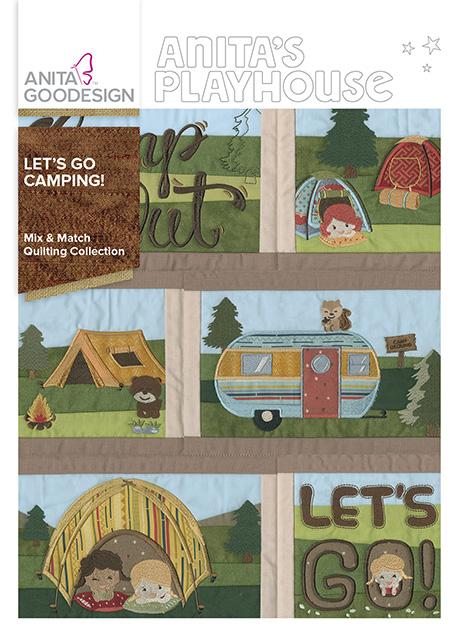 Let S Go Camping Quilt Block Designs Anita Goodesign