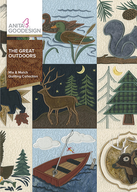 The Great Outdoors Quilting Collection Anita Goodesign
