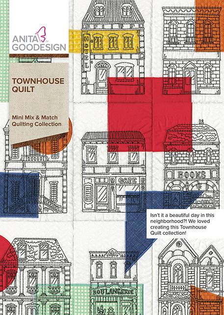 Townhouse Quilt Quilting Collection Anita Goodesign