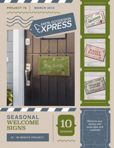 Seasonal Welcome Signs Front Cover