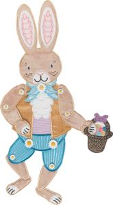 Easter Bunny Door Dangler Embroidery