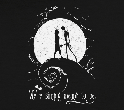 jack skellington and sally were simply meant to be the pumpkin king the nightmare the nightmare before christmas - The Nightmare Before Christmas Jack And Sally